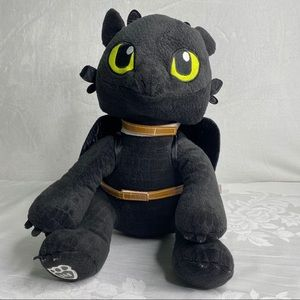 Build A Bear toothless Plush Dragon wings & saddle